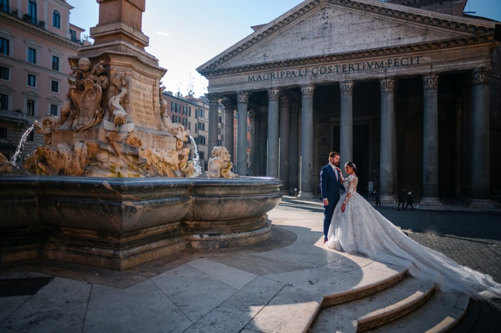Have you ever dreamt about honeymoon photographs in Rome, Italy